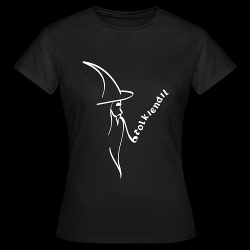 Magicien Tolkiendil Blanc T-shirt Basique Femme - T-shirt Femme