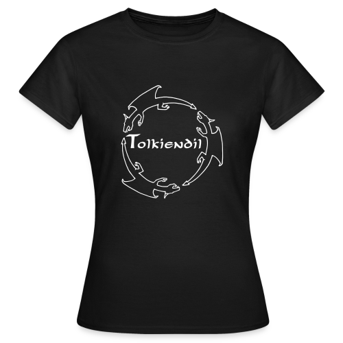 Dragons Tolkiendil Blanc T-shirt Basique Femme - T-shirt Femme