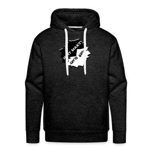 Hvit makt neger slakt Hette genser! - Premium hettegenser for menn