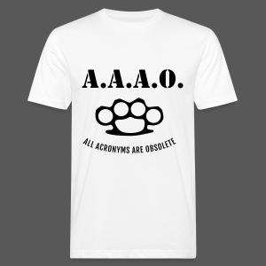 A.A.A.O. - Männer Bio-T-Shirt