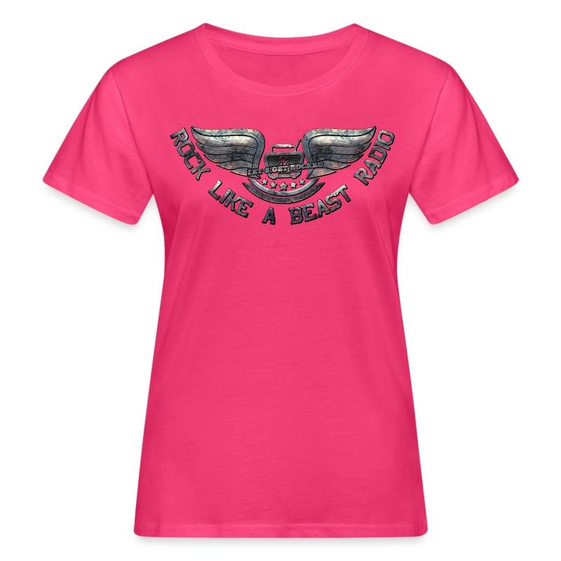 ROCK LIKE A BEASTLogo01 - Ekologisk T-shirt dam