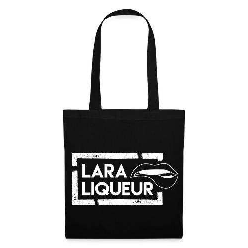 Liqueur Logo - Stoffbeutel schwarz - Stoffbeutel
