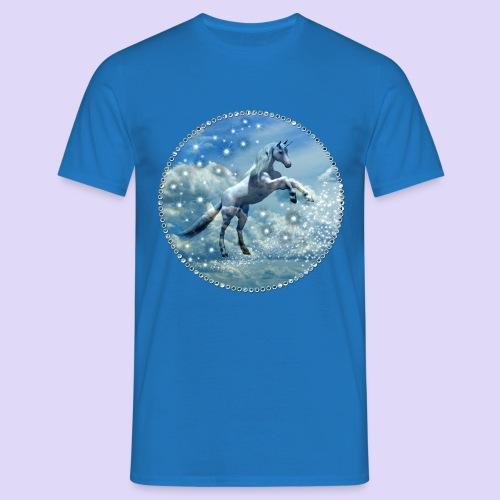 Licorne dans les nuages - T-shirt Homme