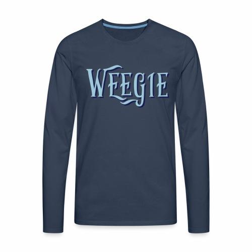 Weegie Men's Long Sleeve T-Shirt - Men's Premium Longsleeve Shirt