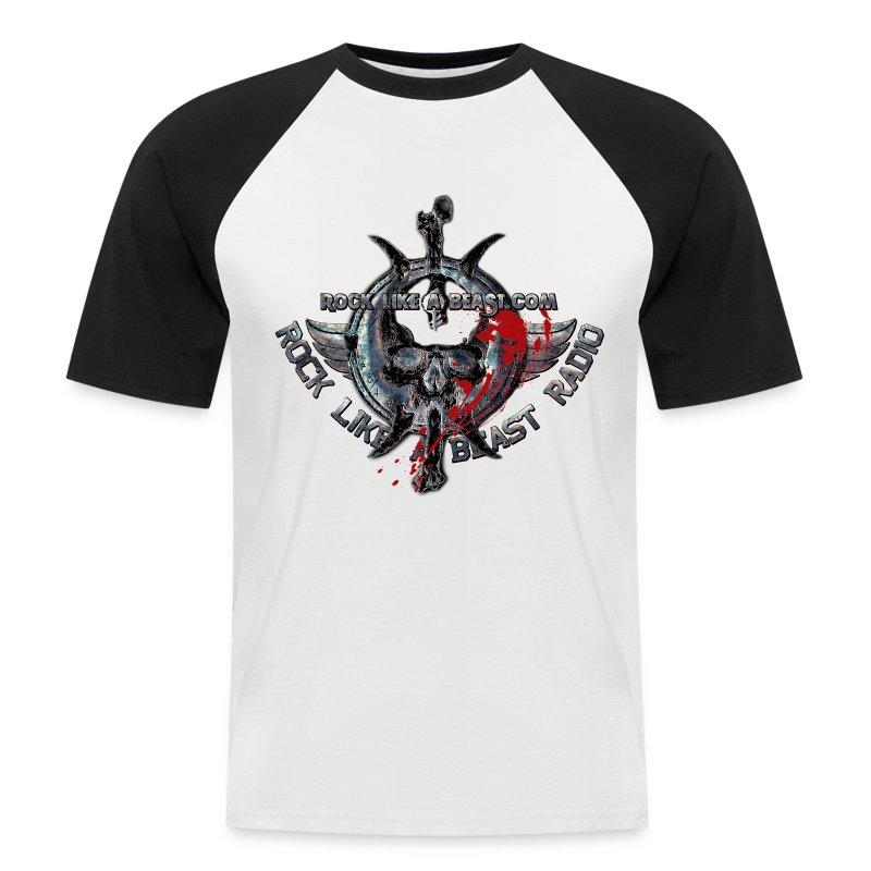 BloodSkull3.png - Kortärmad basebolltröja herr