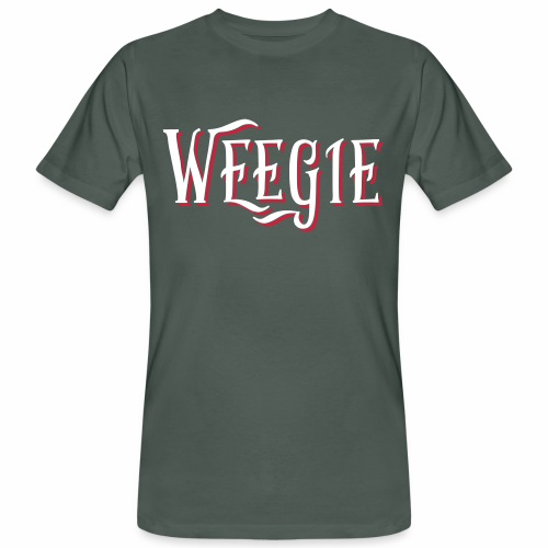 Weegie Men's Organic T-Shirt - Men's Organic T-shirt
