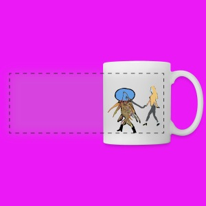 Fish out of water - Panoramic Mug