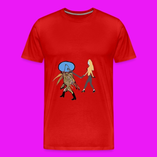 Fish out of water - Men's Premium T-Shirt