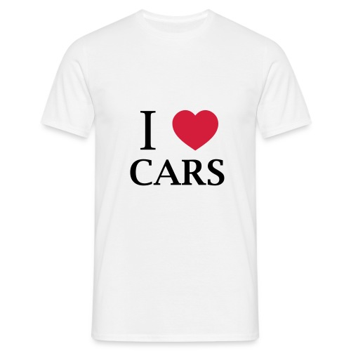 I Love Cars T-Shirt - T-shirt Homme
