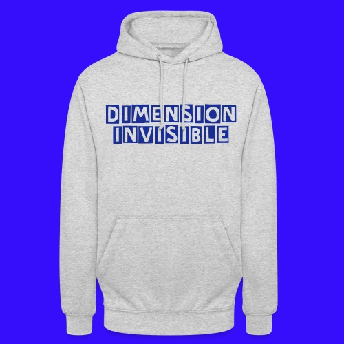 Sweet unisex Dimension Invisible - Sweat-shirt à capuche unisexe