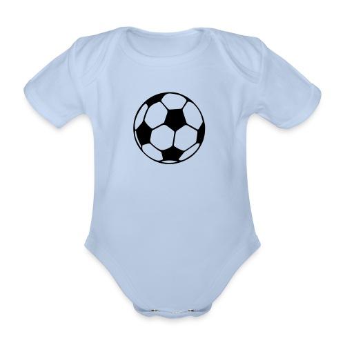 Fussball - Baby Bio-Kurzarm-Body