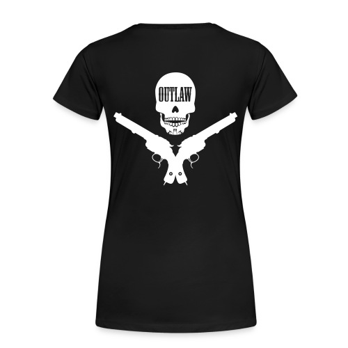 NGS Outlaw Girls - Naisten premium t-paita