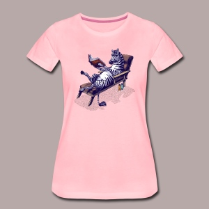 Black and White and Read All Over - Women's Premium T-Shirt