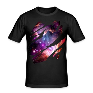 Deep Space Inside - Men's Slim Fit T-Shirt