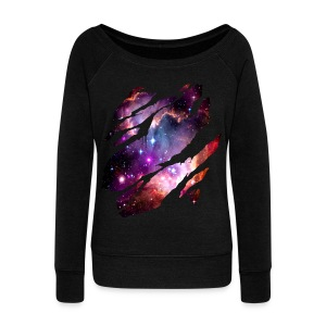 Deep Space Inside - Women's Boat Neck Long Sleeve Top