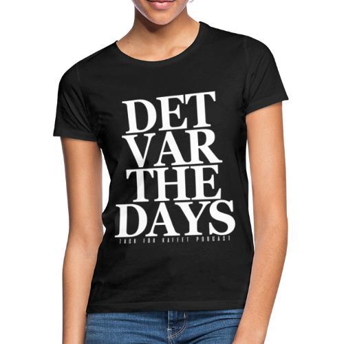 DVTD (SVART) - t-shirt (dam) - T-shirt dam