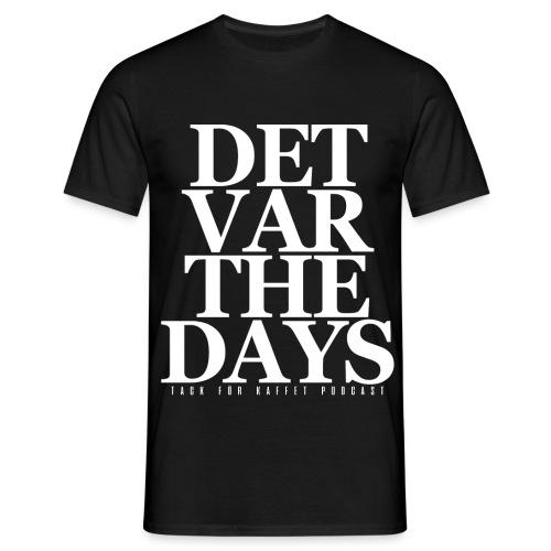 DVTD (SVART) - t-shirt (herr) - T-shirt herr