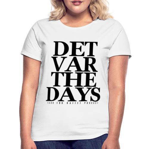 DVTD (VIT) - t-shirt (dam) - T-shirt dam