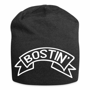 Bostin' Birmingham Dialect Relaxed Beanie Hat - Jersey Beanie