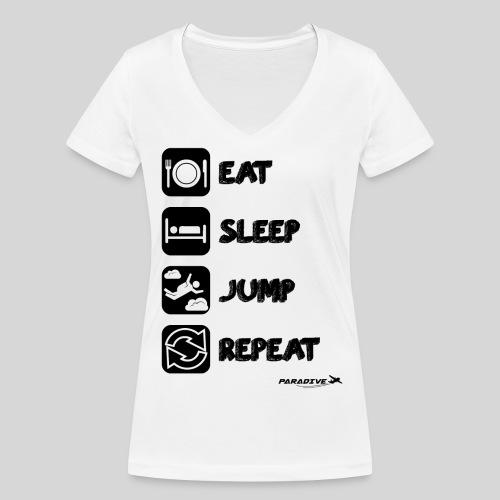 Repeat - Femme col V - T-shirt bio col V Stanley & Stella Femme
