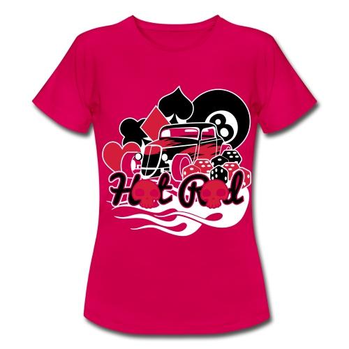 Camiseta Juego y coche mujer - Camiseta mujer