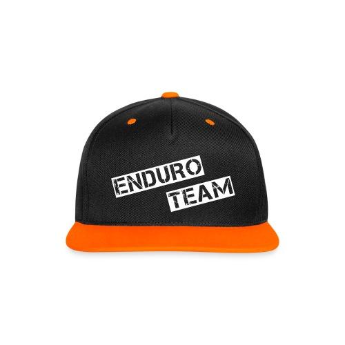 MSC Snapback Cap Enduro Team - Kontrast Snapback Cap