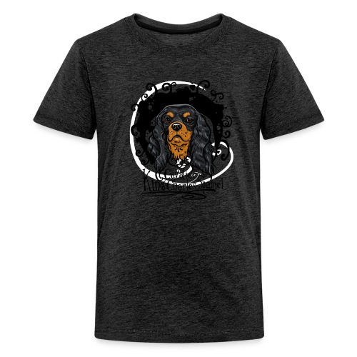 Teenager T-Shirt Black and Tan  - Teenager Premium T-Shirt