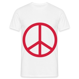 T-shirt Peace And Love Multifaces - T-shirt Homme