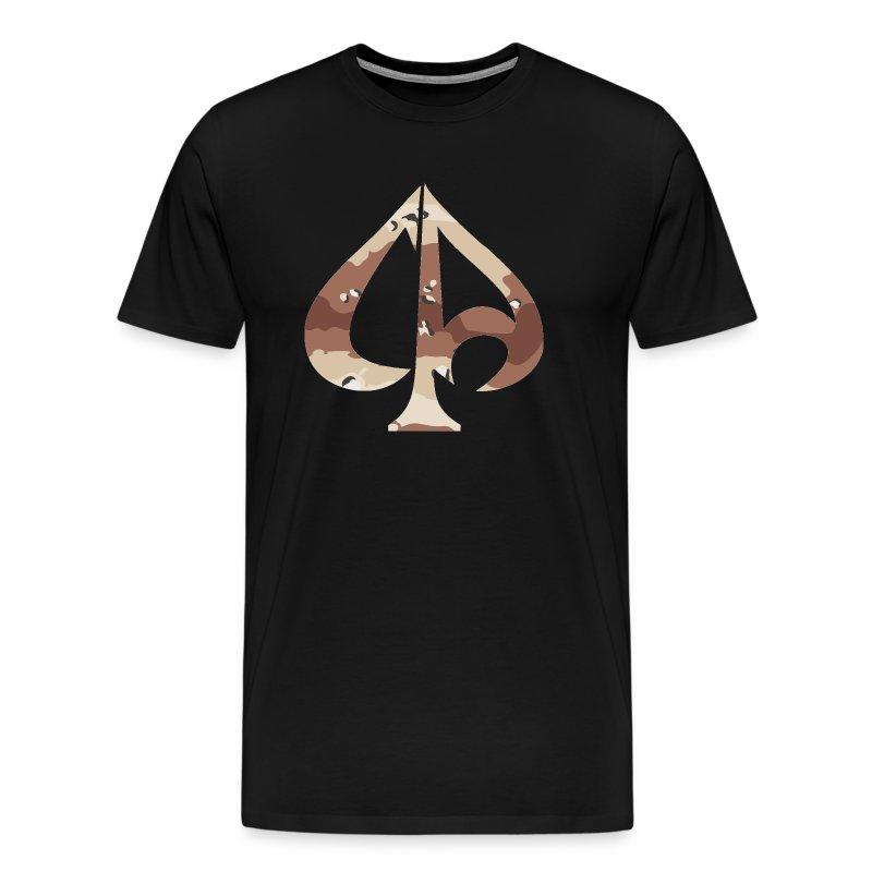 ca logo desert camo2 - Männer Premium T-Shirt