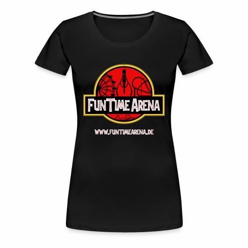 Girlie - Jurassic Arena - Frauen Premium T-Shirt