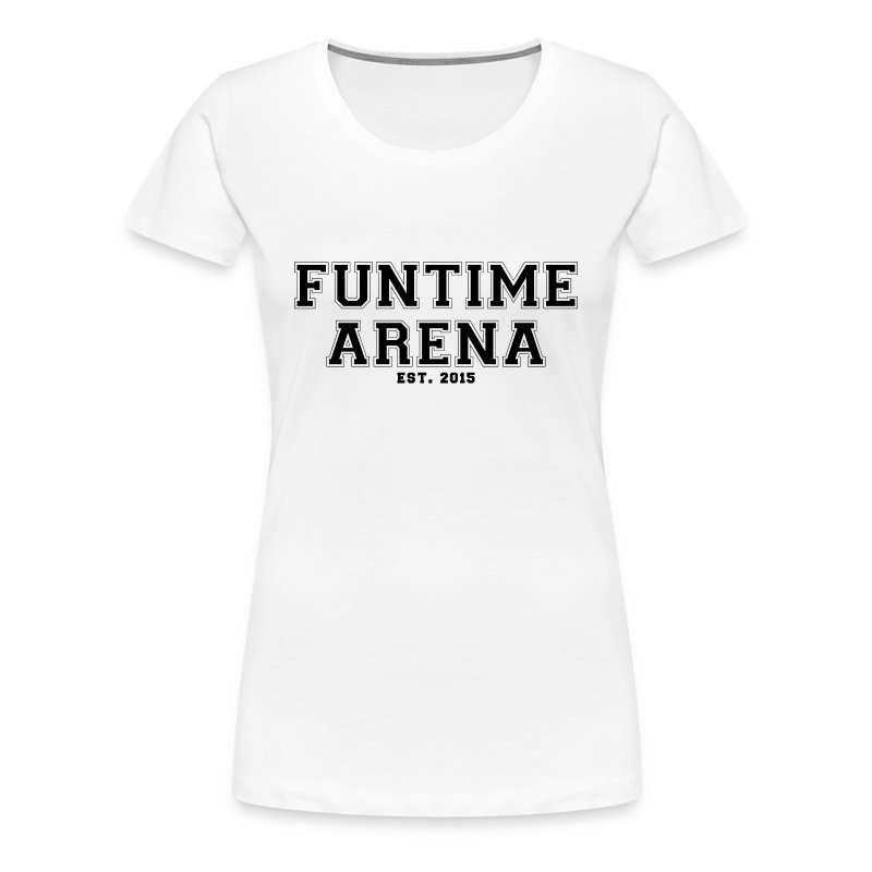 Girlie - College FunTime Arena - Frauen Premium T-Shirt