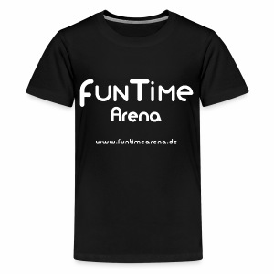 Kiddie-Shirt - FunTime Arena Logo - Teenager Premium T-Shirt
