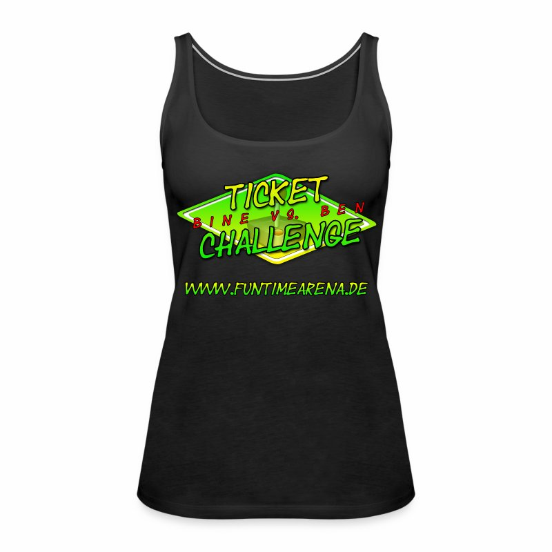 Top - Challenge Team Bine - Frauen Premium Tank Top