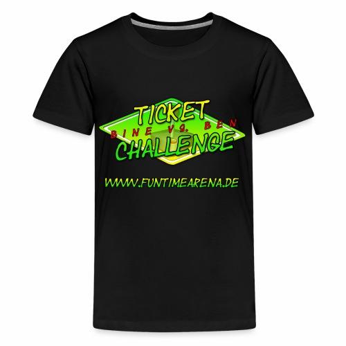 Kiddie - Challenge Team Ben - Teenager Premium T-Shirt