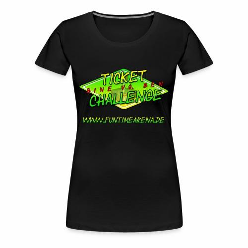 Girlie - Challenge Team Ben - Frauen Premium T-Shirt