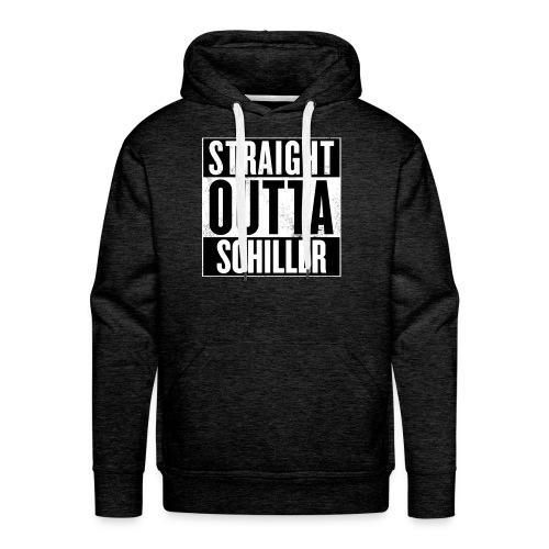 Straight outta Schiller-Hoodie M - Männer Premium Hoodie