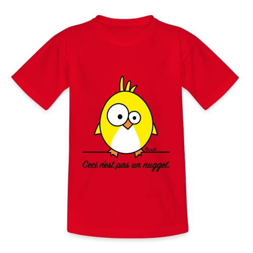 T-shirt Enfant Poussin, Ceci n'est pas un Nugget - T-shirt Enfant