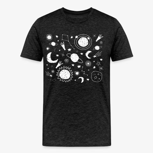 Space Mens T-shirt - Men's Premium T-Shirt