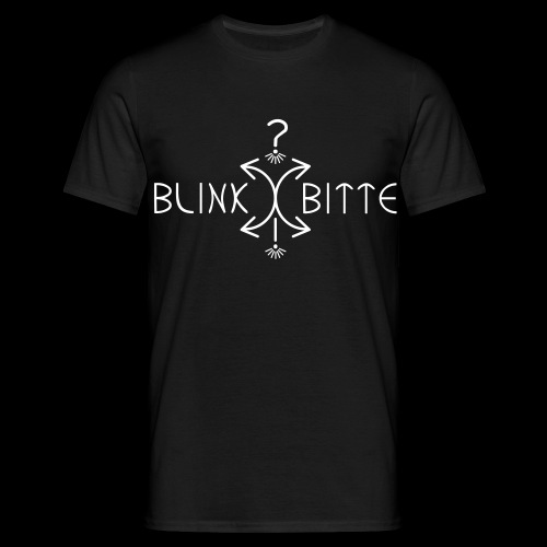BLINKBITTE - Männer T-Shirt