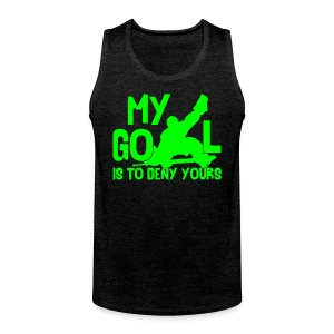 My Goal Is To Deny Yours Men's Vest Top - Men's Premium Tank Top