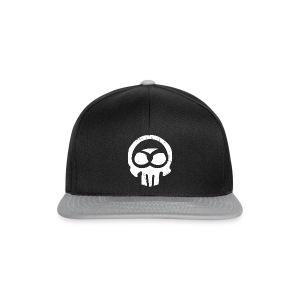 Schwabe im Kopf/weiß - Käpple - Snapback Cap