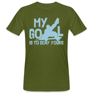 My Goal Is To Deny Yours Men's Organic T-Shirt - Men's Organic T-shirt