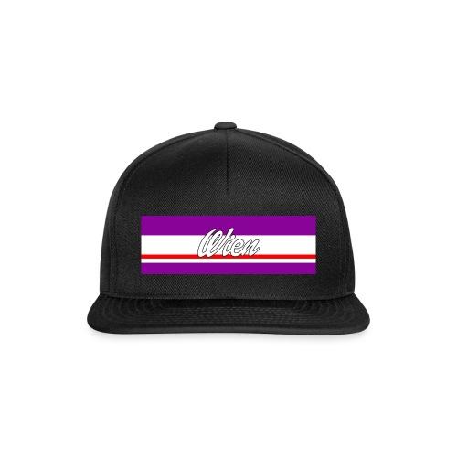 Wien Violett II Snapback II Unisex - Snapback Cap