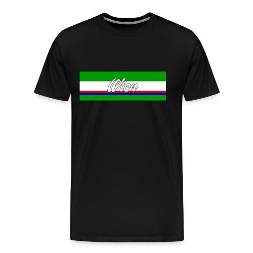 Wien Grün II Shirt II Männer - Männer Premium T-Shirt