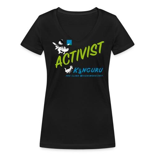 Frauen Bio-T-Shirt mit V-Ausschnitt von Stanley & Stella - Windsurfing