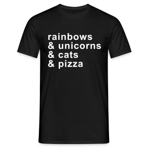 rainbows & unicorns - Männer T-Shirt