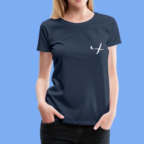 Segelflugzeug sailplane - Women's Premium T-Shirt