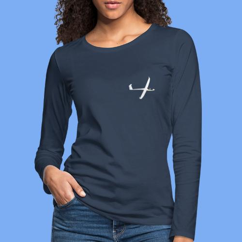 Segelflugzeug sailplane - Women's Premium Longsleeve Shirt
