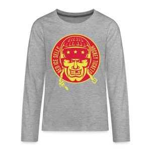 Red Ice Sells Hockey Tickets Teenager's Long Sleeve T-Shirt - Teenagers' Premium Longsleeve Shirt