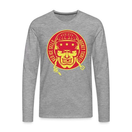 Red Ice Sells Hockey Tickets Men's Long Sleeve T-Shirt - Men's Premium Longsleeve Shirt
